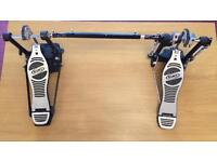 MAPEX DOUBLE BASS DRUM PEDAL NO BEATERS