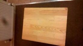 Folding Wooden TV Dinner Laptop Snack Table