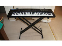 Roland D50 with Memory Card and Keyboard Stand