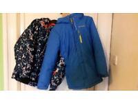 Two boy/teenage Ski Jackets
