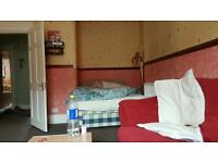 Double bed in secure and bright flat