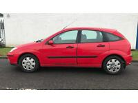 DIESEL FORD FOCUS ZETEC 1.8L TD (2002 ) year mot 5 door family car