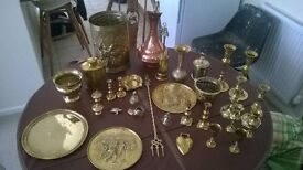 Large selection of good quality brass ornaments.