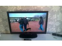 Sharp 37 inch LCD TV,Freeview,HDMI,Remote