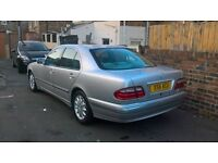 merc e240 x reg clean car