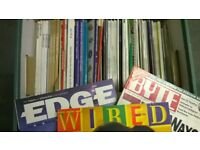 MANY HISTORICAL MAGAZINES FROM 1980s - BYTE, WIRED, EDGE - ALL FOR £4.50