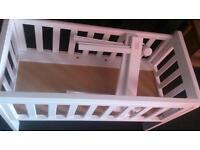 troll bedside crib / co sleeper / bedside cot