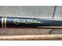 Ronnie o Sullivan cue grade a ash used twice excellent condition