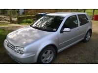 VW Golf Mk4 GTtdi PD (150) 2003 3 door hatch NOW £1295 ono