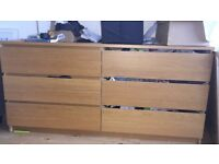 Long chest of drawers