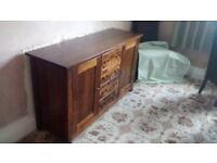 Stylish Dining Room Side Cabinet