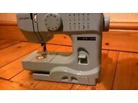 John Lewis Baby Blue Sewing Machine.