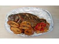 Fish2Go Fish Jollof Rice Orders Food African Africa Nigerian Nigeria Catering