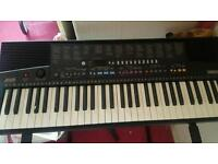 Yamaha keyboard, Amplifier and foot pedal!!!!