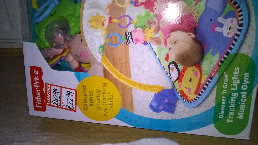 Musical gym Fisher price