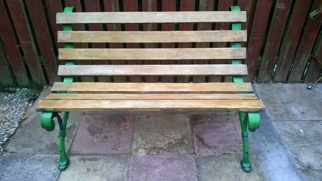 Old Garden Bench Seat In Ayr South Ayrshire Gumtree