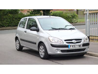 Hyundai Getz 1.1 2007 12 Months MOT (No Advisory) Very good condition