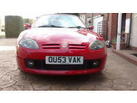 MG TF 1.8 2003 Low Mileage