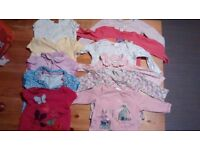 Huge bundle of 9 - 12 month girls clothes in great condition (not all pictured)
