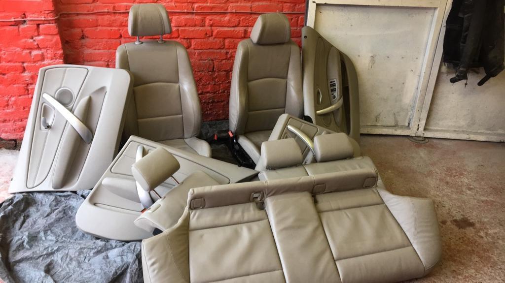 1 series BMW leather trim