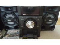 Sony Mini Hi-Fi speaker system for sale