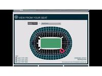 Adele 2tickets 2nd July LAST NIGHT BEST SEATING TIER