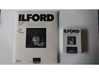 Ilford (black and white) photographic paper