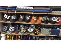 Belts ( LV , Gucci , ferragamo , Versace , hermes )