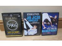 Brazilian Jiu Jitsu instructionals by Ryan Hall and Keenan Cornelius