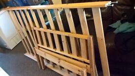Wooden single bed 3ft frame also have metal single bed 3ft frame