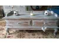 Shabby chic hall table