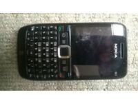 Nokia E63 - Black (Three) Smartphone
