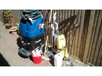 Professional Carpet cleaning machine plus a few extras, used,
