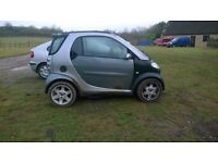 MCC smart car LHD ideal tow car