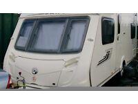 Swift Charisma fixed bed 4 berth caravan