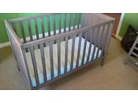 2 x Grey-brown Ikea Sundvik Cot for sale - will sell individually or as a pair
