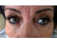 Cashmere individual eyelashes extensions £30