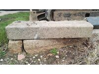 Reclaim granite kerbs need to go ASAP