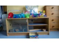 huge hamster cage and loads of accessories