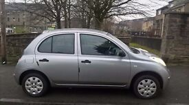 Nissan Micra 1.2 2005 (55)**Full Years MOT**Low Insurance**Great Running Small Car**Only £1495