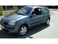 RENAULT CLIO 1.2 DYNAMIQUE 16v (Silver) Very clean good looking car, Drives great