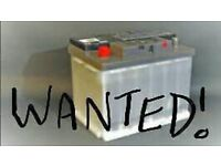 Wanted Dead Car Batteries / Lorry / Leisure £