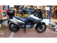 Suzuki DL650 V-Strom For Sale Year 2007 - New MOT and 3 Months Warranty