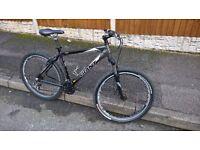 giant mtb mountain bike cycle disc brake suspension size medium