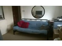 PETERBOROUGH PRIVATE LANDLORD 10 mns walk C.C.or Bus - 1 Bed Flat, Lounge, Galley Kitchen + Parking