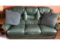 Green 3 piece suite