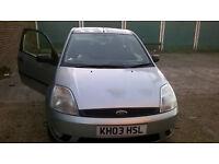FORD FIESTA 1.4 Zetec 3dr 2003 Petrol Hatchback Manual