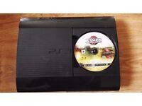 PS3 500GB Super Slim Console | 2 Controllers | 6 games