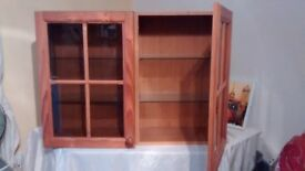 Wall mounted / table top - front window cupboard.