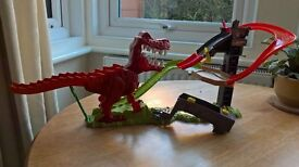 Hot wheels T Rex Takedown Playset - complete. Just £7!